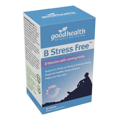 B Stress Free™ B Vitamins with Calming Herbs - 60 Tablets