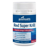 Good Health Red Super Krill 750mg Oil