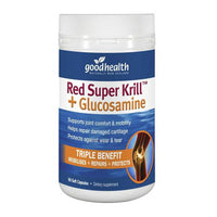 Good Health Red Super Krill™ + Glucosamine - 60 Capsules