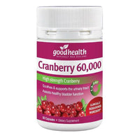 Good Health Cranberry 60,000 - 50 Capsules