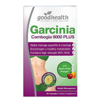 Garcinia Cambogia 9000 PLUS with ACV - 60 Capsules
