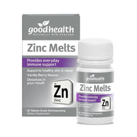 Zinc Melts - 60 Tablets