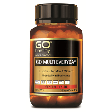 GO Healthy GO Multi Everyday - 30 Vege Capsules