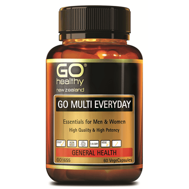 GO Healthy GO Multi Everyday - 60 Vege Capsules