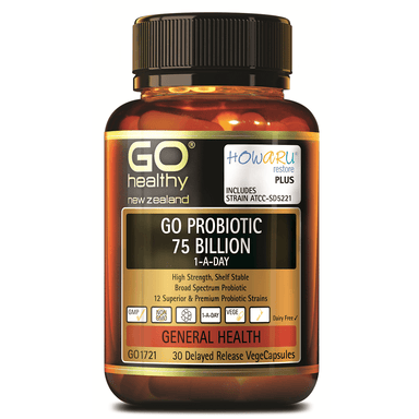 GO Healthy GO Probiotic 75 Billion 1-a-Day - 30 Vege Capsules