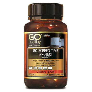 GO Healthy GO Screen Time iProtect 1-a-Day - 30 Softgel Capsules
