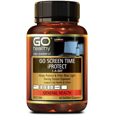 GO Healthy GO Screen Time iProtect 1-a-Day - 60 Softgel Capsules