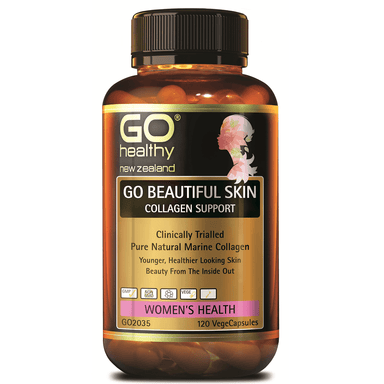 GO Healthy GO Beautiful Skin Collagen Support - 120 Vege Capsules