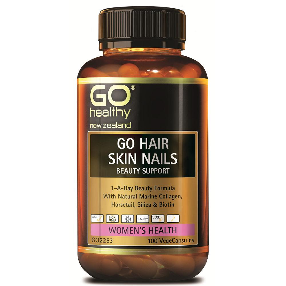 GO Healthy GO Hair Skin Nails Beauty Support Capsules