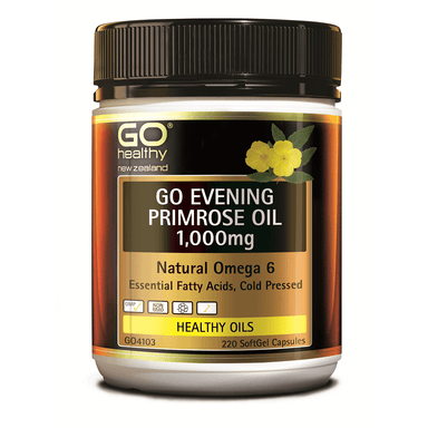 GO Healthy GO Evening Primrose Oil 1,000mg - 220 Softgel Capsules