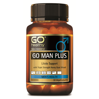 GO Healthy GO Man Plus - 30 Vege Capsules