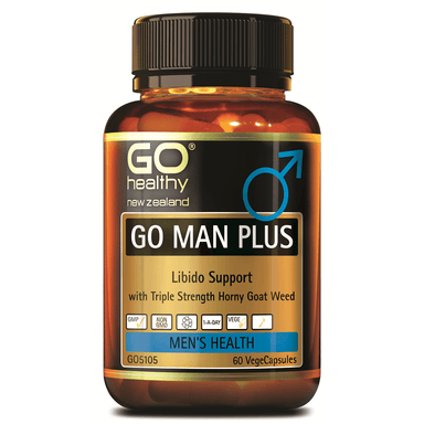 GO Healthy GO Man Plus - 60 Vege Capsules