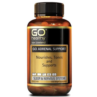GO Healthy GO Adrenal Support - 120 Vege Capsules