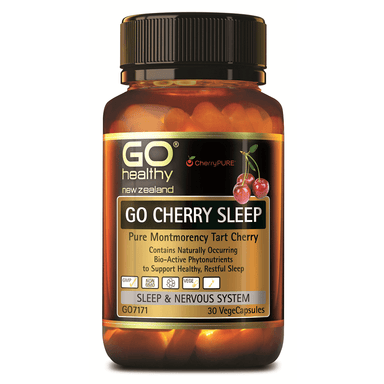 GO Healthy GO Cherry Sleep - 30 Vege Capsules