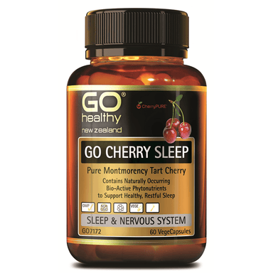 GO Healthy GO Cherry Sleep - 60 Vege Capsules