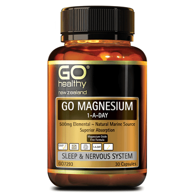 GO Healthy GO Magnesium 1-a-Day - 30 Capsules