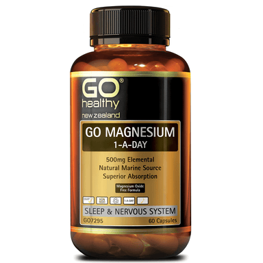 GO Healthy GO Magnesium 1-a-Day - 60 Capsules