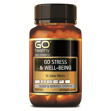 GO Healthy GO Stress & Well-Being - 30 Vege Capsules