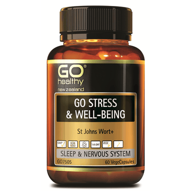 GO Healthy GO Stress & Well-Being - 60 Vege Capsules
