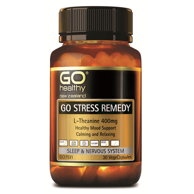 GO Healthy GO Stress Remedy - 30 Vege Capsules