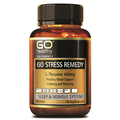 GO Healthy GO Stress Remedy - 60 Vege Capsules
