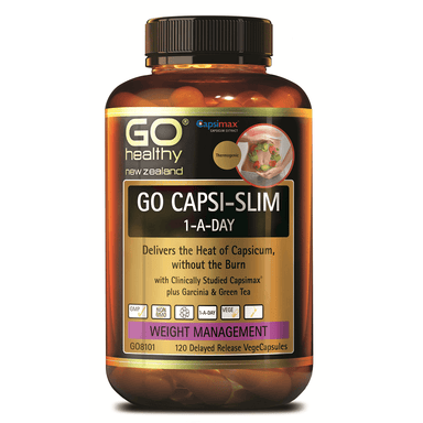 GO Healthy GO Capsi-Slim 1-a-Day - 120 Vege Capsules