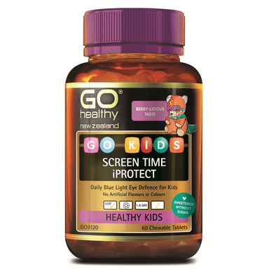 GO Healthy GO Kids Screen Time iProtect - 60 Chewable Tablets
