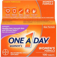 One A Day Women's Formula Multi-Vitamin/Multi-Mineral Supplement - 100 Tablets