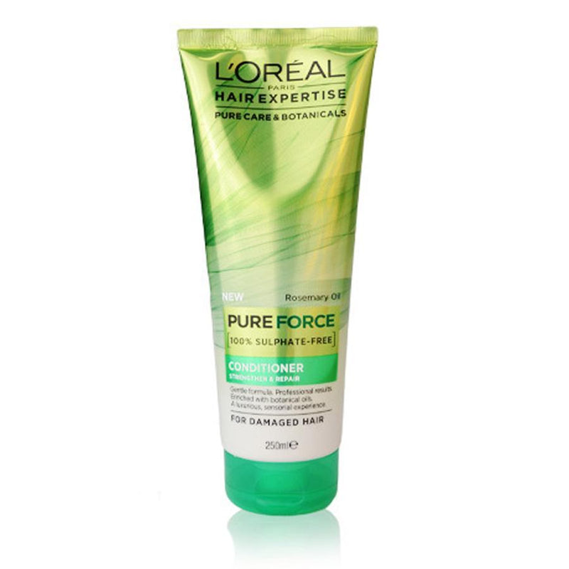 L'oreal Pure Force Strengthen & Repair Conditioner 250ml