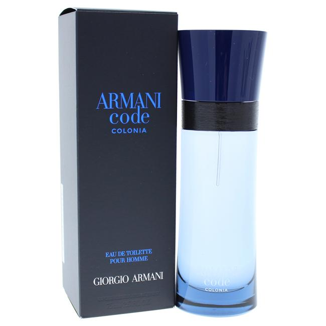Armani Code Colonia by Giorgio Armani for Men - 75 ml EDT