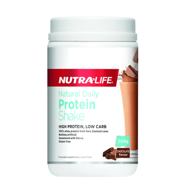 Nutra Life Natural Daily Protein Shake - 500g Chocolate