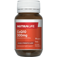 Nutra Life CO-Q10 300mg - 30 Capsules