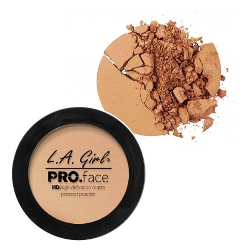 L.A. Girl Pro Face High Definition Matte Pressed Powder - True Bronze