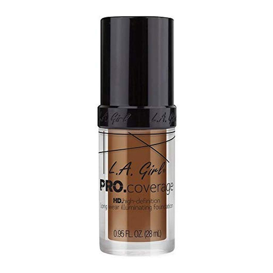 L.A. Girl Pro Coverage Illuminating Foundation 28 mL - Coffee