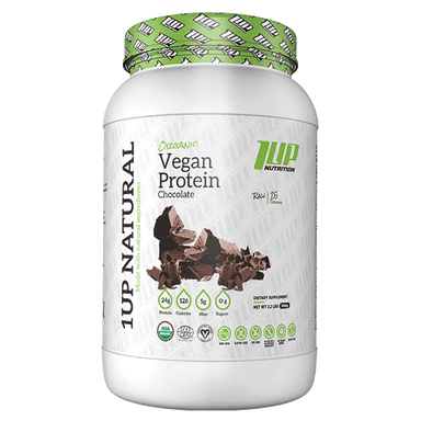 1UP Nutrition Natural Vegan Protein - Chocolate