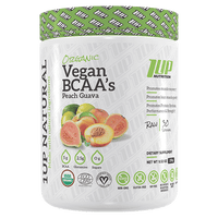 1UP Nutrition Natural Vegan BCAA's 30 Servings - Peach Guava