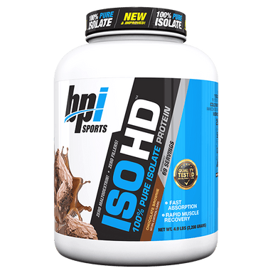 BPI Sports ISO-HD - 4.9lbs/Chocolate Brownie