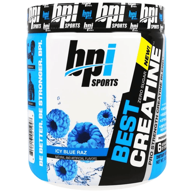 BPI Sports Best Creatine 50 Servings - Icy Blue Razz