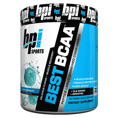 BPI Sports Best BCAA 30 Servings - Blue Raspberry