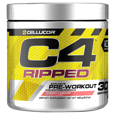 Cellucor C4 Ripped Pre-Workout 30 Servings - Cherry Limeade