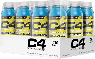 Cellucor C4 On The Go Pack of 12 - Icy Blue Razz