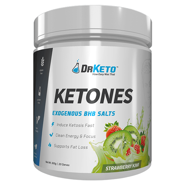 Dr Keto Ketones 20 Servings - Strawberry Kiwi