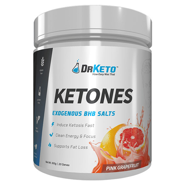Dr Keto Ketones 20 Servings - Pink Grapefruit