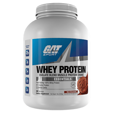 GAT Sport Whey Protein 68 Servings - Rich Chocolate