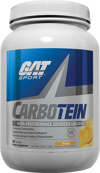 GAT Sport Carbotein High Performance Glycogen Loader 50 Servings - Orange