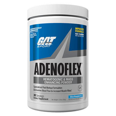 GAT Sport Adenoflex 30 Servings - Blue Raspberry