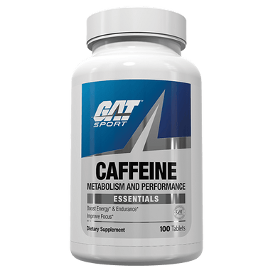 GAT Sport Essentials Caffeine Metabolism and Performance 100 Tablets