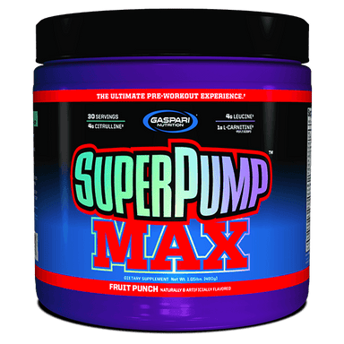 Gaspari Nutrition Super Pump Max 30 Servings - Fruit Punch