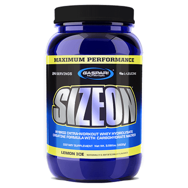 Gaspari Nutrition Size On Maximum Performance 24 Servings - Lemon Ice