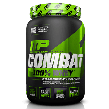MusclePharm Combat 100% Whey 2 lbs - Chocolate Milk